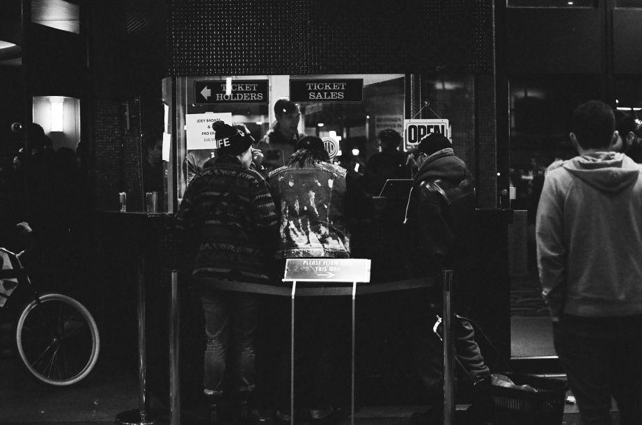 Punks at Vogue Theatre.