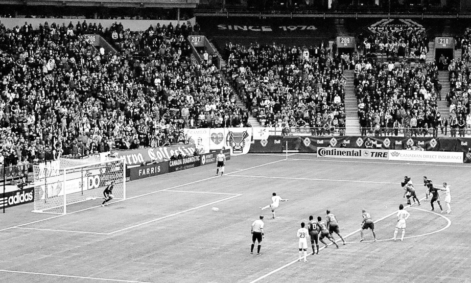 Penalty scored by the whitecaps in the 86th minute.